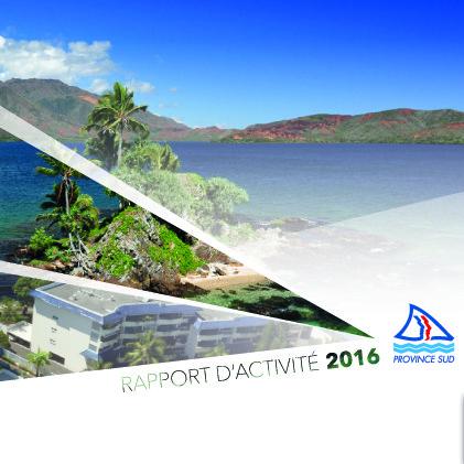 Rapport d'activité Province Sud
