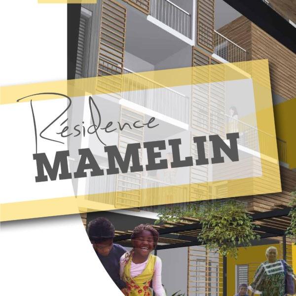 Plaquette résidence Mamelin