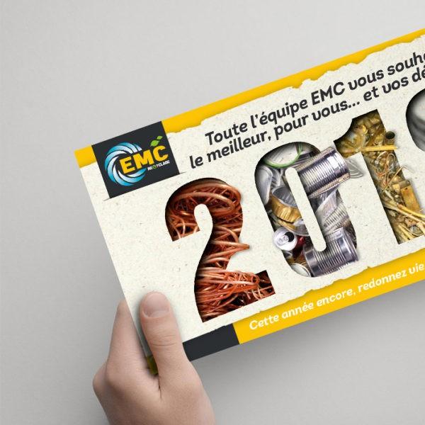 Carte de vœux EMC